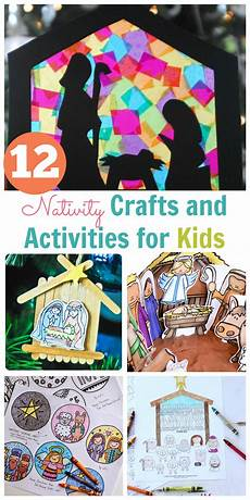 nativity crafts and activities for kids happy home