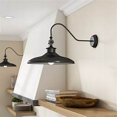 laurel foundry modern farmhouse spartansburg 1 light barn light reviews wayfair