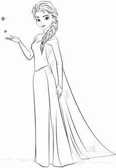 Elsa Malvorlagen Zum Drucken Illustrator Ausmalbild Elsa Aus Frozen Kategorien Die Eisk 246 Nigin