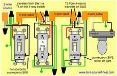 3 Way 4 Switch Wiring Diagram Ask The by Wiring What Could Cause Lights To Come On Strength