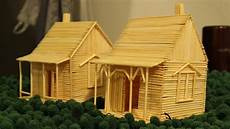 toothpick house plans how to make a toothpick house making toy youtube