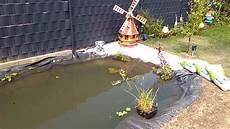 Wir Bauen Einen Koi Teich Mit Bagger Und Viel Arbeit