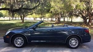 Buy Used NO RESERVE 2008 Chrysler Sebring Hard