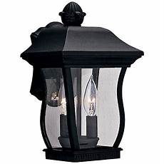 country cottage black motion sensor outdoor wall light h6924 lsplus com