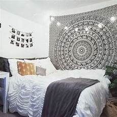 White Tapestry Bedroom Ideas by Magical Thinking Floral Elephant Tapestry In 2019 My
