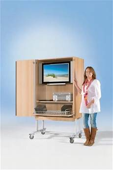 tv wagen conen tv wagen tv 120 mit roll und videoauszug