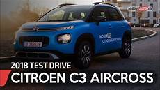 citroën c3 aircross feel 2018 citroen c3 aircross feel 1 6 blue hdi mt test drive