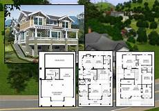 sim house plans pics photos sims house blueprints home plans