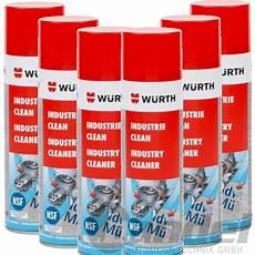 würth industrie clean 1 46 100ml 6x w 220 rth industrie clean etikettenentferner