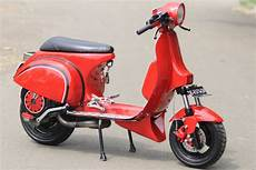 Modifikasi Motor Vespa by Vespa Scooter Modification Collections All About Photo