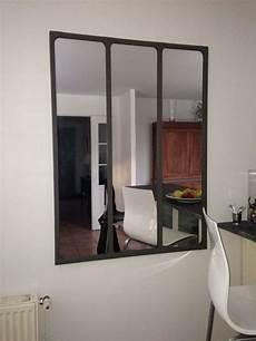 magnifique miroir d atelier parfait pour agrandir la pi 232 ce