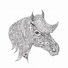 kleurplaten paard stockvectors rechtenvrije kleurplaten
