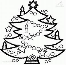 Ausmalbild Weihnachtsbaum Basteln Rund Ums Jahr Tannenbaumschmuck