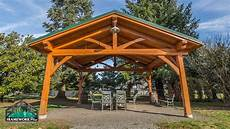 timber frame pavilion kit in vancouver wa framework plus
