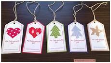 geschenkanh 228 nger quot weihnachten quot kostenlose anleitung