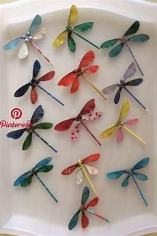 Libellen Kreatives Crafts Crafts For