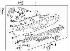 2008 gmc 1500 tow wiring diagram 23285673 gmc bumper bar rear bumper wholesale gm parts