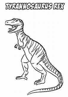 stripping t rex coloring page color