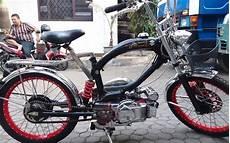 Modifikasi Motor Bravo by Modifikasi Suzuki Rc 100 Bravo Bebek Kencang Zaman Doeloe