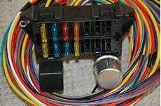10 Circuit Basic Wire Harness Fuse Box Rat Rod