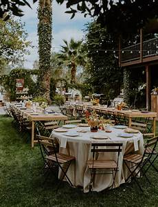 Western Meets European In This Warm And Eclectic Backyard Wedding