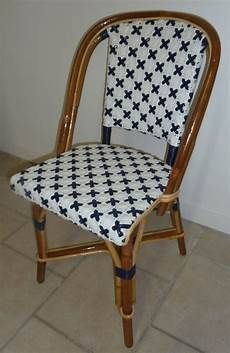 chaise bistrot rotin occasion