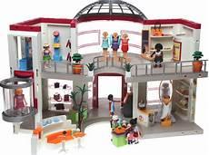 Playmobil Ausmalbilder Shopping Center Playmobil 5485 Shopping Center Mit Einrichtung Decotoys