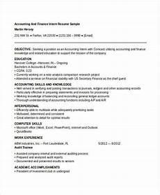 22 best finance resume templates pdf doc free