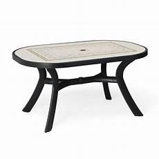 Table De Jardin Plastique Toscana Ovale Zendart Design