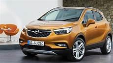 Opel Mokka De - 2016 opel mokka x orange drive interior and