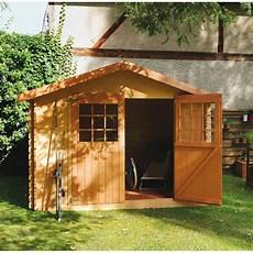abri et jardin abri de jardin en bois 6 75 m 178 ep 28 mm flodova plantes