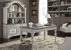 white home office furniture magnolia manor antique white home office set 244 ho107