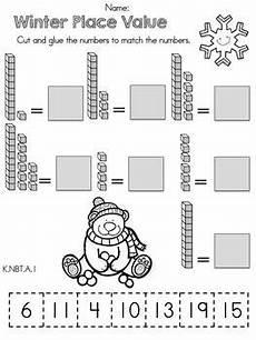 place value worksheets kindergarten free 5173 kindergarten winter math worksheets common aligned math worksheets places and place values