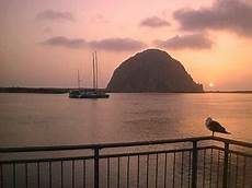 Seagull Apartments Ks by Morro Bay Ca Morro Rock At Sunset Seagull Included