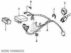 honda crf100f wiring diagram honda crf100f 2004 4 usa parts lists and schematics