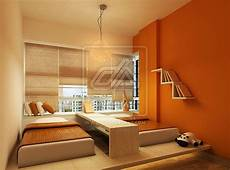 2 Bed Bedroom Ideas by Orange Bedroom With Two Bed Design Interior Design