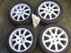 16 inch peugeot 206 gti cc ouragan alloy wheels 4 stud