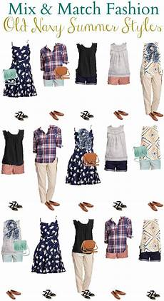 Navy Mix And Match Wardrobe For Summer 2016