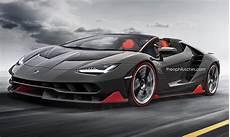 Lamborghini Centenario Roadster Rendered Autoevolution