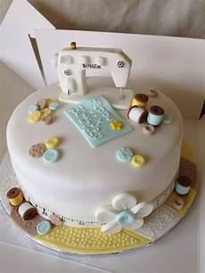design kuchen sewing machine cake topper birthday cake sewing