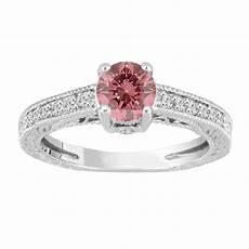 pink diamond engagement ring fancy pink diamond wedding