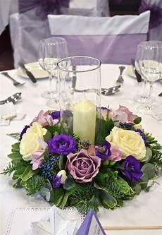 Purple Winter Wedding Flowers