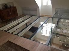 sols verre trescalini plancher en verre verre et