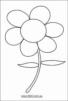 0to5 Template Flower Dayschool Science