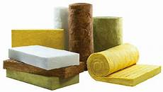 most common building thermal insulation materials on the