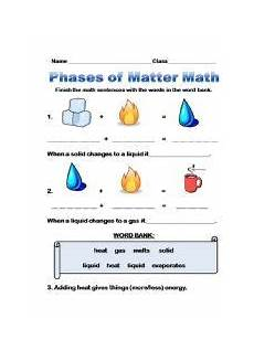 identifying states of gas matter worksheet 1000 images about second grade on worksheets