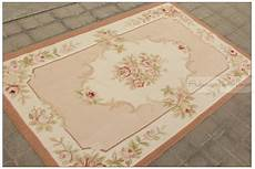 3 X5 Wool Woven Shabby Chic Style Aubusson