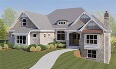 craftsman style house plans with walkout basement craftsman house plan with rv garage and walkout basement