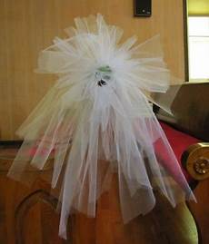 tulle aisle decorations step by step diy wedding flower