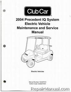 what is the best auto repair manual 2004 cadillac xlr parental controls 2004 club car precedent iq system electric vehicle electric golf cart service manual